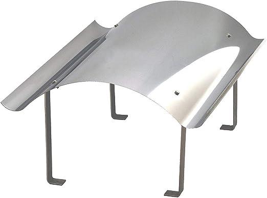 900 x 1300mm Schornsteinabdeckung Kaminabdeckung Kaminhaube Regenhaube aus Edelstahl
