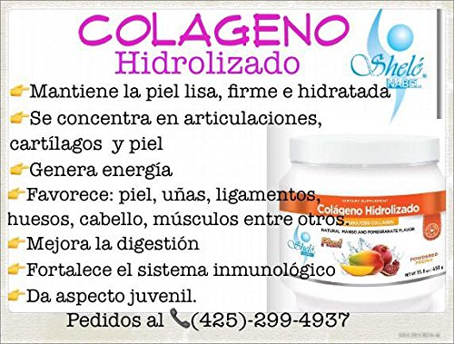 Amazon.com: Hydrolyzed Collagen with Hyaluronic Acid/ Colageno Hidrolizado Con Acido Hialuronico: Health & Personal Care