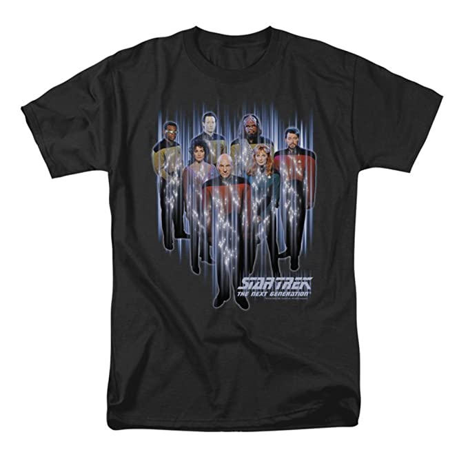Star Trek Next Generation TNG BEAM US UP Adult T-Shirt All Sizes