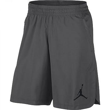 40e81b478d4 Nike Mens Jordan Flex Training Shorts Dark Grey/Black 814963-021 Size X-
