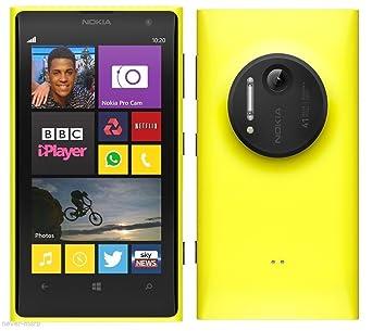 nokia 1020. nokia lumia 1020 32gb unlocked gsm windows smartphone w/ 41mp camera - yellow no