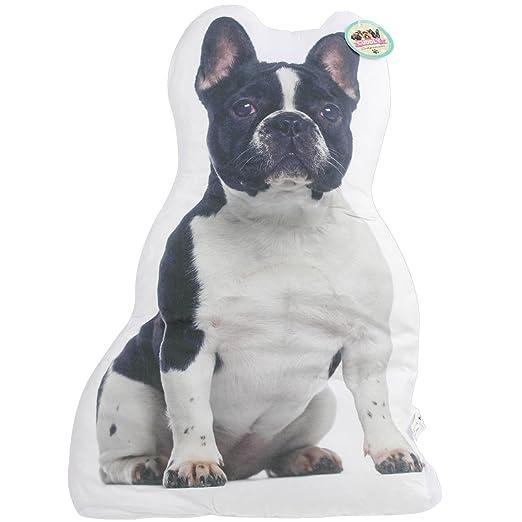 Cuddly Companions Cojín en Forma de Bulldog Francés: Amazon ...
