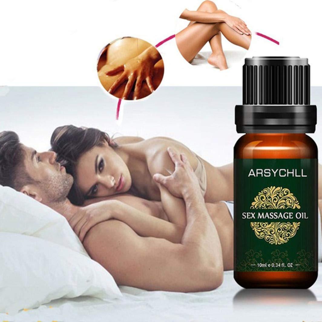 certainPL Sex Massage Oil Herbal Aphrodisiac Spa Massage Essential Oils Sex Orgasm Arousal Enhancer (10ML)