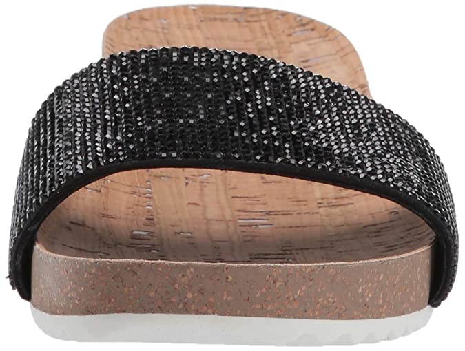 57b4240252a1 Amazon.com  Anne Klein Women s Qtee Slide Sandal  Shoes