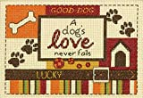 Dimensions Crafts NeedleCrafts Counted Cross Stitch, a Dog's Love