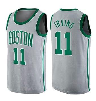 9babdf597a runvian Camiseta de Baloncesto para Hombre, NBA Boston Celtics 11# Kyrie  Irving Bordado Transpirable y Resistente al Desgaste Camiseta para Fan:  Amazon.es: ...