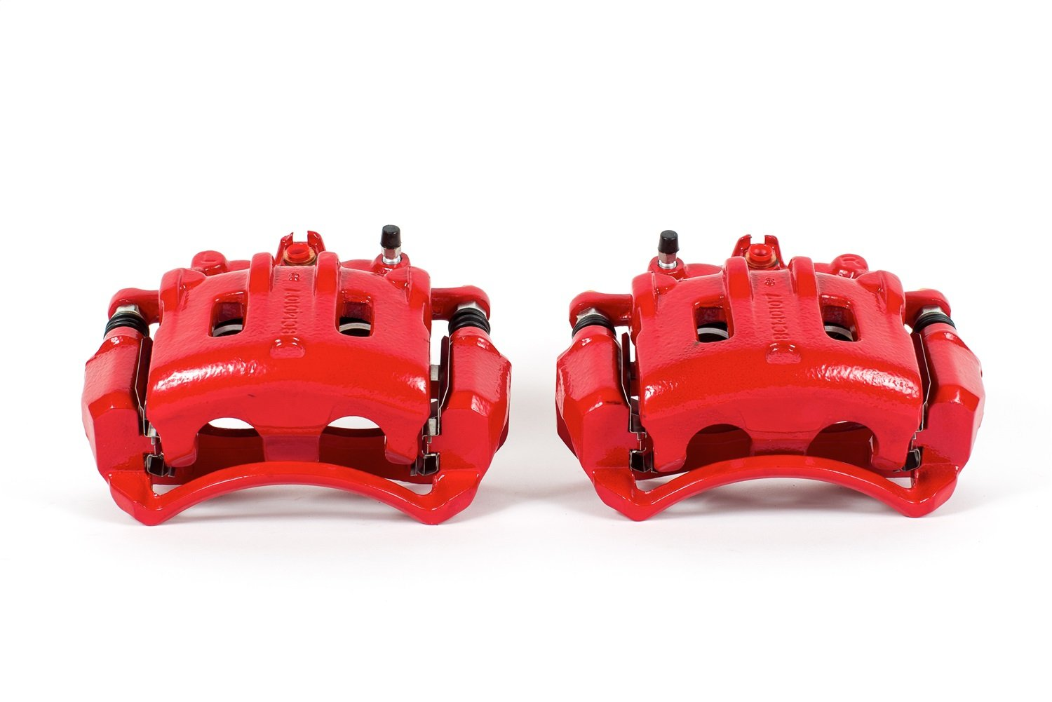 Power Stop S5056 Red Powder-Coated Performance Caliper