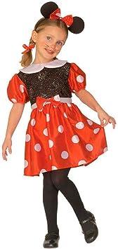 NET TOYS Disfraz de pequeño ratón Minnie roedor Chica Vestido ...