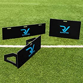 RapidFire Soccer Rebound Board for Passing & Shooting Practice