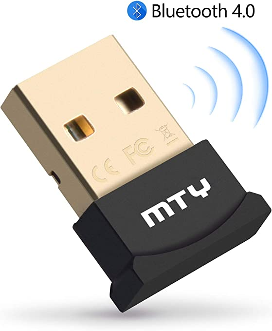 Gtplayer Bluetooth Adapter Usb Dongle 4 0 Nano For Pc Computers Accessories