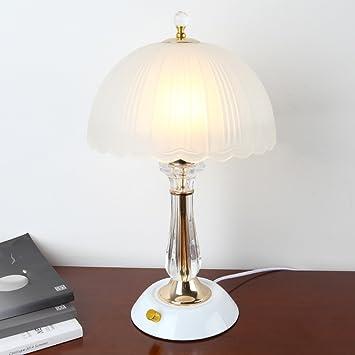 Lámpara De Mesa Moderna Lámpara De Mesa De Cristal Lámpara ...