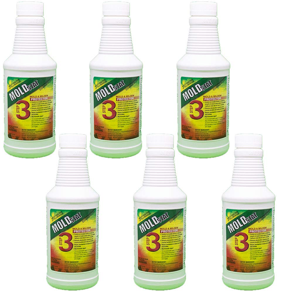 Moldstat Step 3 Commercial Mold & Mildew Protector, 16 ounce (6) by Theochem (Image #1)