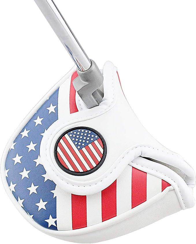 crestgolf Golf USA América funda para Putter de mazo para palos de ...