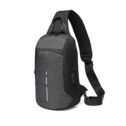 5f35f7f72d84 Image Unavailable. Image not available for. Color  XY CF Chest bag men s  Messenger ...