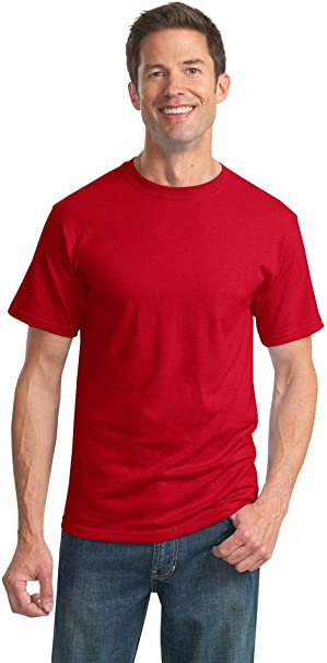 Jerzees Mens Heavy Blend Cotton//Poly Long Sleeve T-Shirt