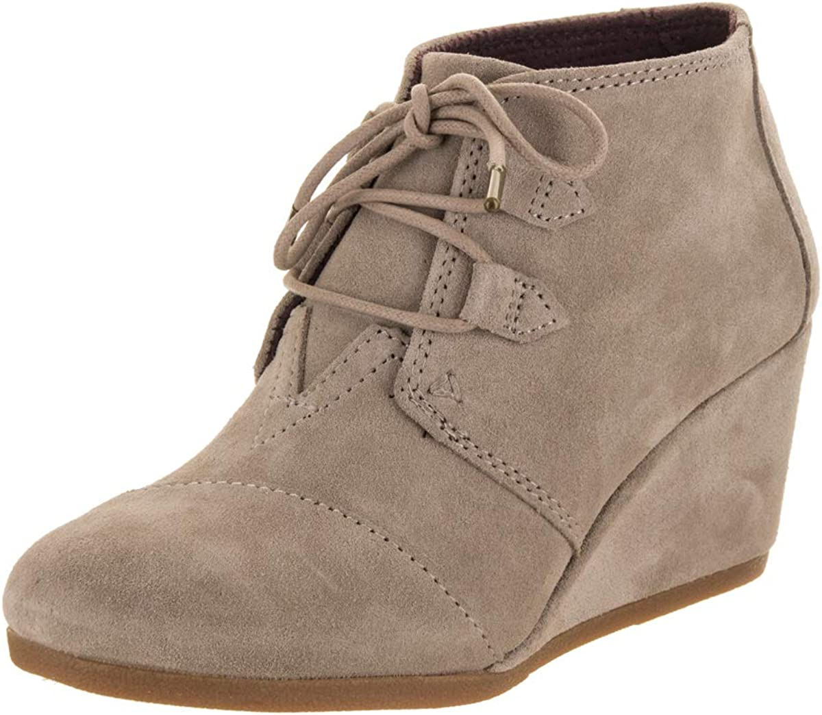 TOMS Womens Kala Desert Taupe Suede 10 B (M)