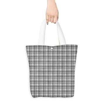 Bolsas de moda impresas, diseño geométrico inglés con ...