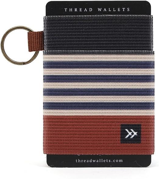 Front Pocket Minimalist EDC Slim Wallet 15 Card Holders for Men Cash Coins Ke HI