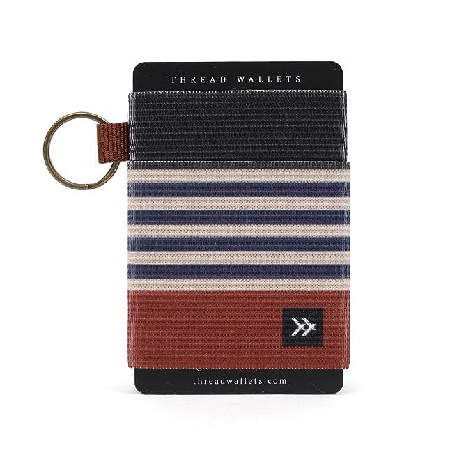 thread wallets slim minimalist wallet front pocket credit card holder for men