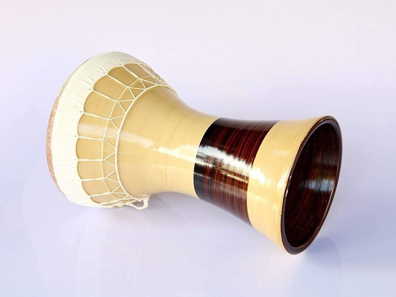 Professional Solo Clay Darbuka Ceramic Dohola Doumbek KIK-324