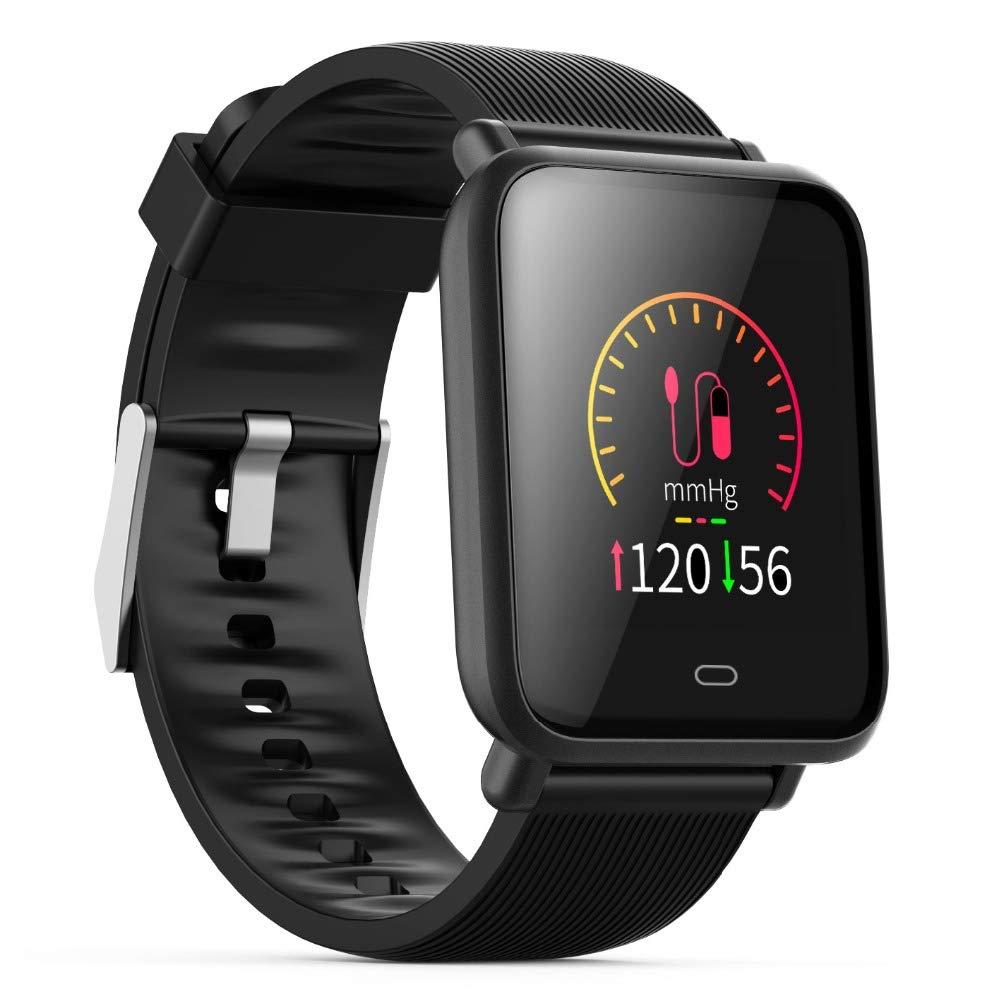 Amazon.com: C sunny Q9 Blood Pressure Smartwatch (15 Days ...