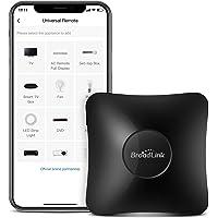 Broadlink RM4 pro Smart Remote Control Hub Wi-Fi IR/RF Blaster for Smart Home Automation, TV, Curtain, Shades Remote…