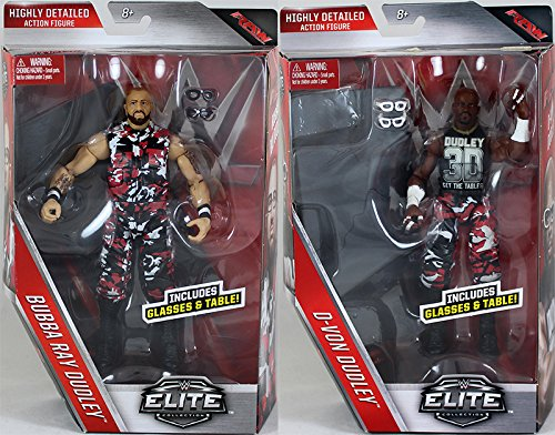 PACKAGE DEAL D-Von Dudley & Bubba Ray Dudley  - WWE Elite 45