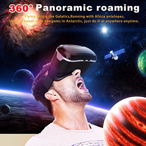 VR Headset,ELEGIANT 3D VR Glasses Virtual Reality Box for 3D Movies Video Games, for iPhone 7 Plus 6 Plus 6s Samsung S7 S6 Edge S5 Note 5 Other 4.0-6.0 Inches Smartphones Photo #9