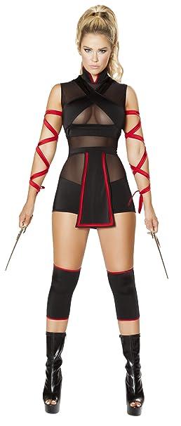 Amazon.com: Ninja Striker Costume Warrior Costume Set: Clothing