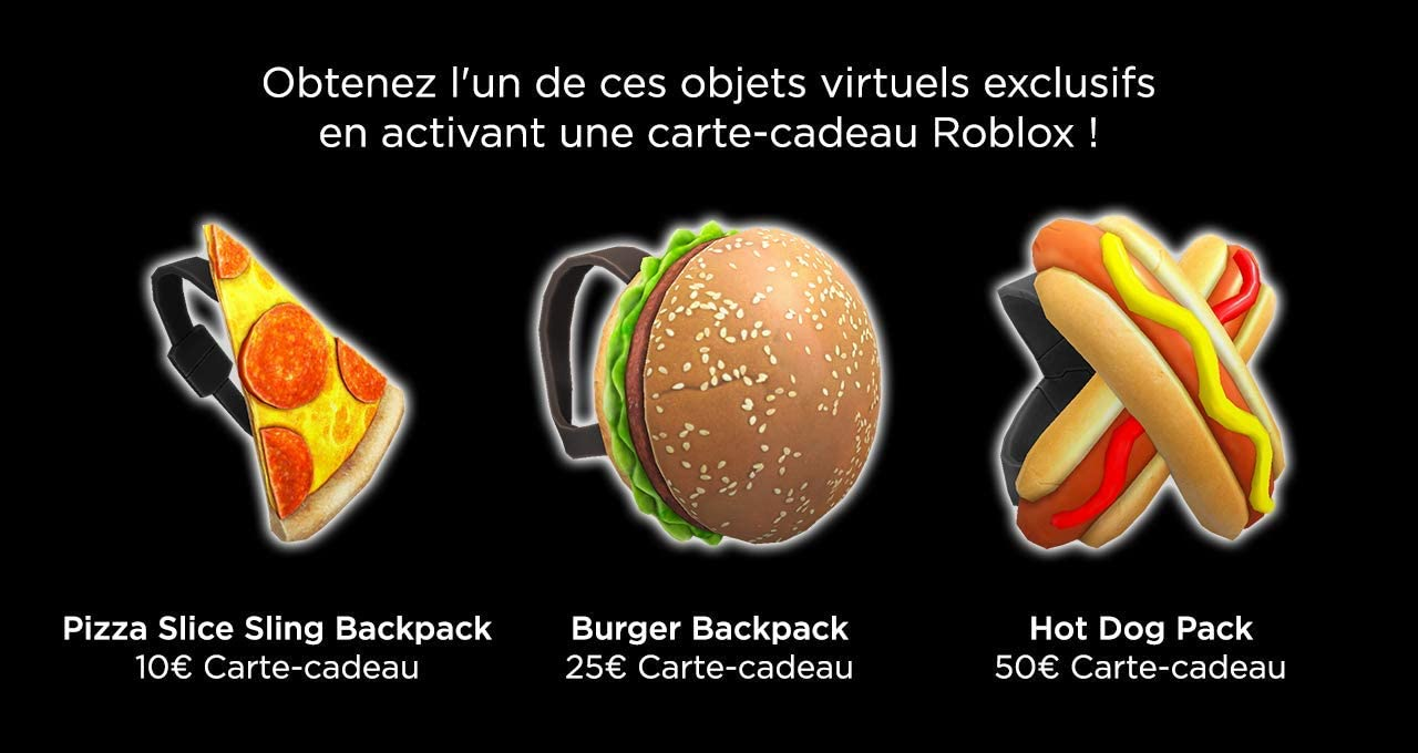 Roblox Chez Burger Youtube Concours Gagnez Une Carte Cadeau Illicado De 300 Euros Solde Carte Cadeau Visa Vanilla Iup Concours Code Promo One