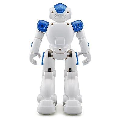 Amazon Com Naladoo Remote Control Rc Robot Toys For Christmas Gifts