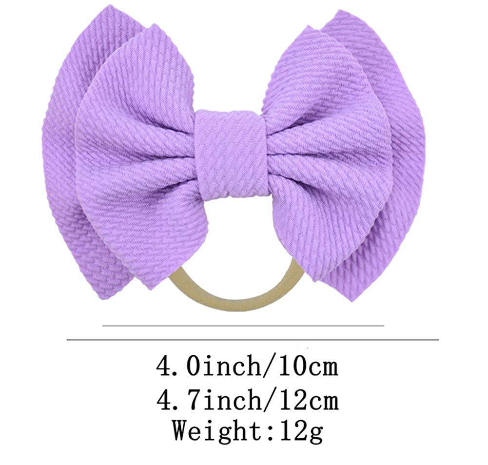 Qandsweet Baby Girls Headbands and Bows Hair Accessories