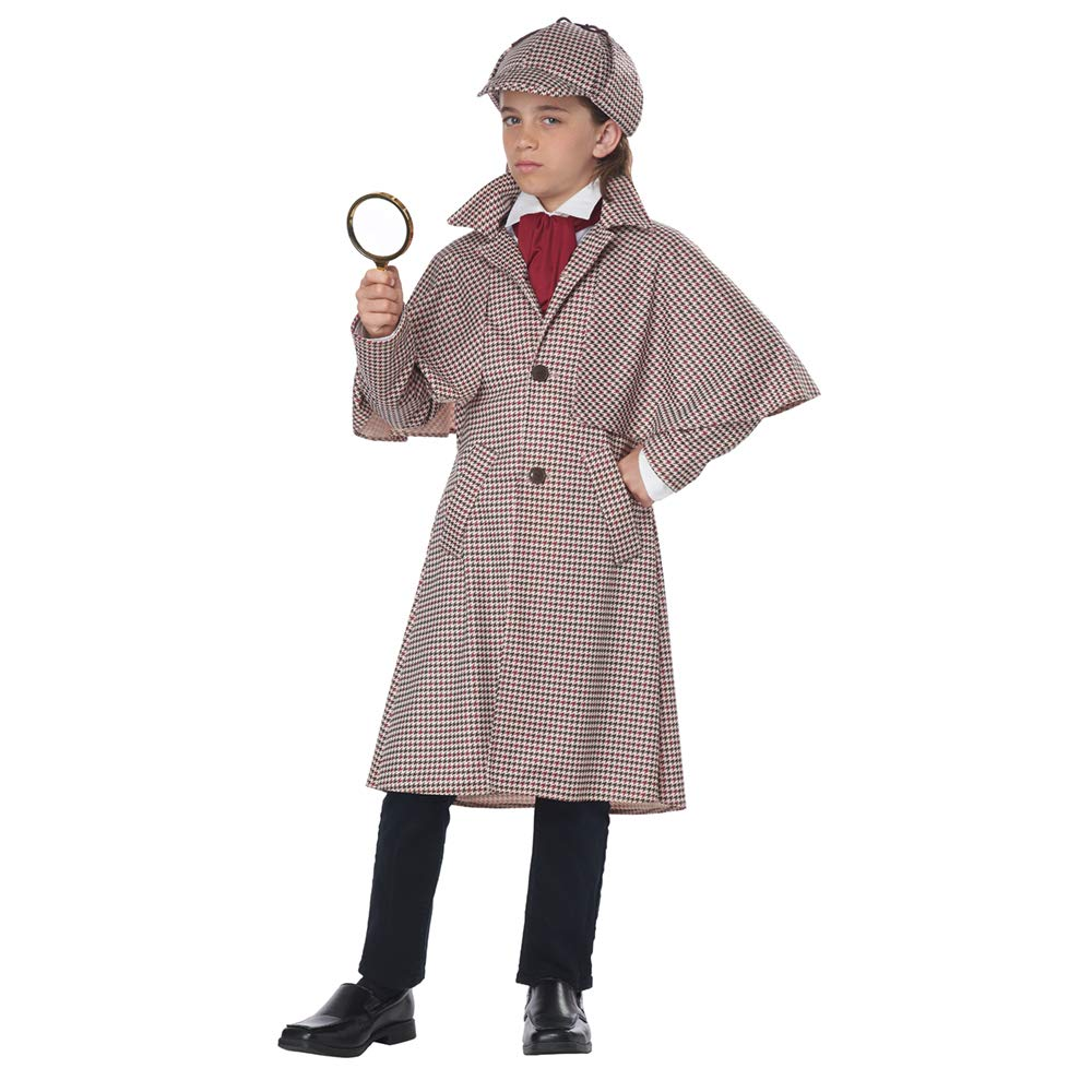 California Costumes Famous Detective Child Costume-