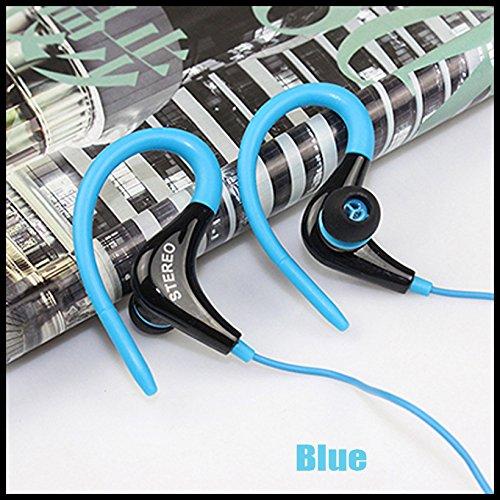 Sport Gym Earphone In- ear Ear-hook Headphone Running Jogging With Mic Headset (Ship by Epacket) ()