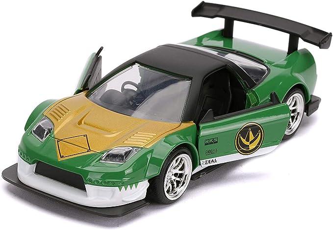 1:32 Scale Green Jada Just Trucks Power Rangers 2002 Hond NSX Type R Japan Spec