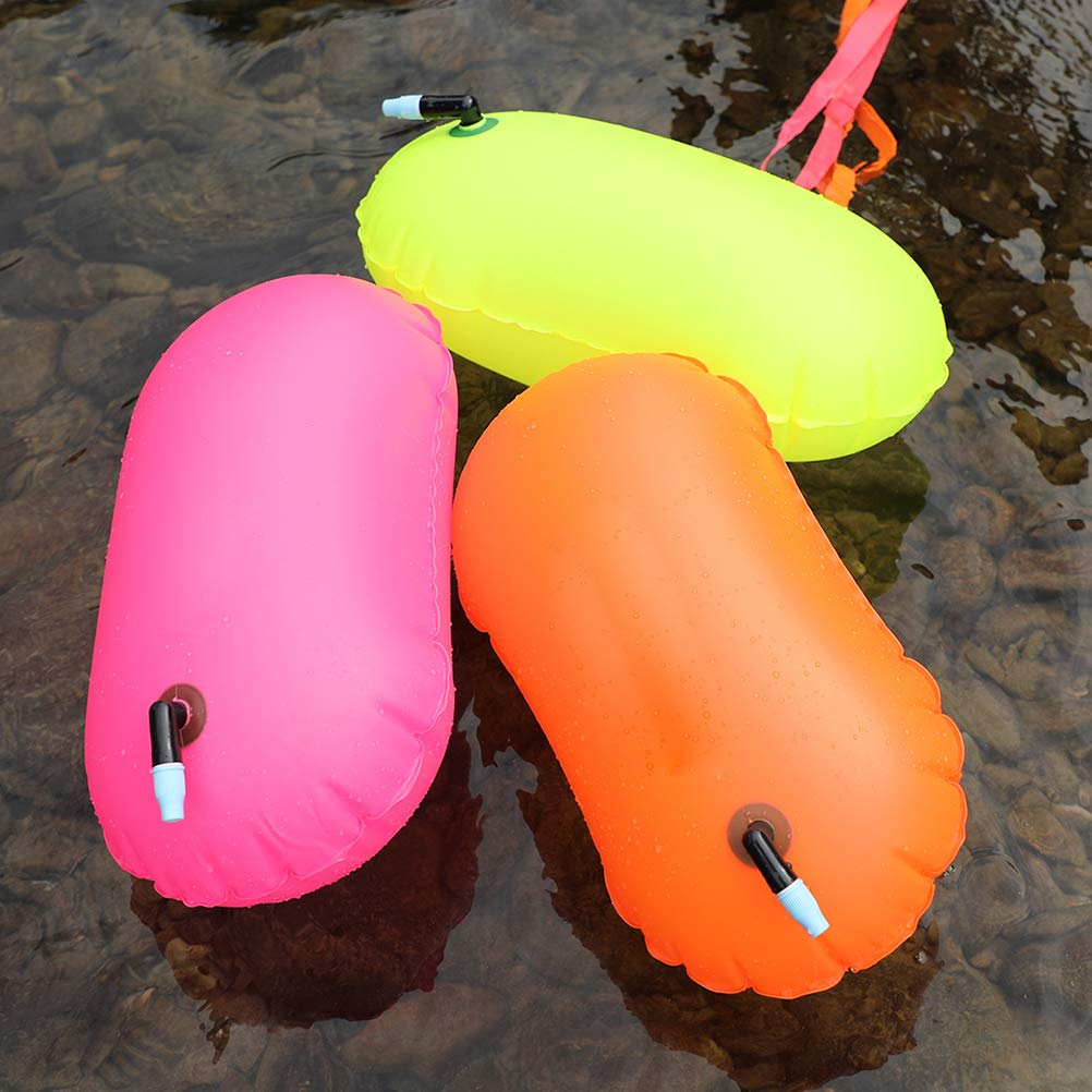 New Open Water Swim Buoy Swimming Inflatable Airbag Tow Float Pool For Triathlon
