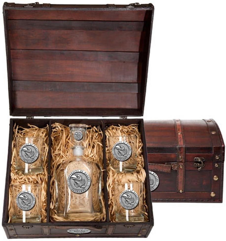 B00J4564J8 Kansas Jayhawks Liquor Decanter Set 61URuv8zljL.SL1001_
