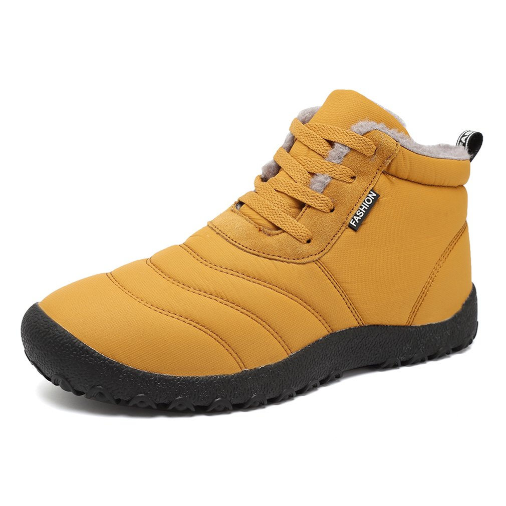 ee2a848be Amazon.com | KEESKY Men's Winter Snow Boots House Slippers Waterproof  Insulated Outdoor Shoes | Snow Boots