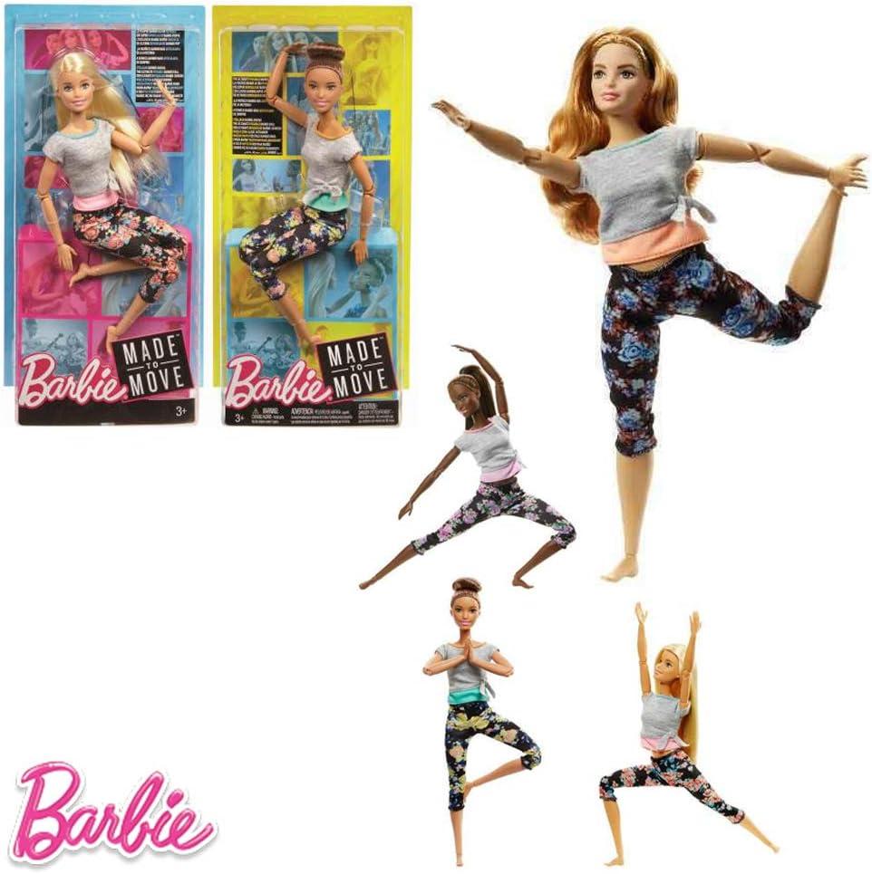 Amazon.es: Barbie- Endless Moves Doll Assortment muñeca Movimiento ...