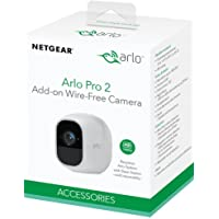 Arlo Pro 2 VMC4030P - (1) Add-on Camera | Rechargeable, Night vision, Indoor/Outdoor, HD Video 1080p, Two-Way Talk, Wall Mount | Cloud Storage Included | Works with Arlo Pro Base Station