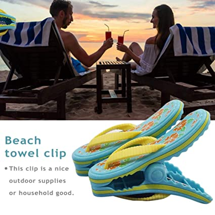How To Keep Patio Furniture From Blowing Away.Amazon Com Purelemon Beach Towel Clips Jumbo Size For Beach Chairs