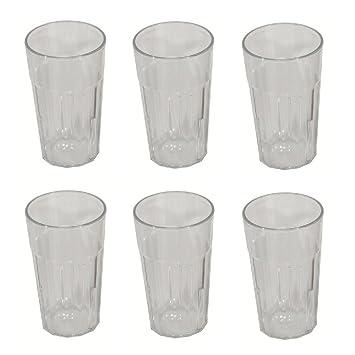 002fe3def6718f Viva Haushaltswaren - 6 x bruchfestes Wasserglas 200 ml