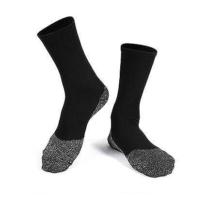 ZooArts® - 1 par de calcetines de fibra de aluminio para mantener los pies calientes