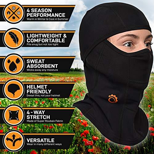 Giochi d'imitazione Balaclava Dinosaur Cactus Plant Leaf Personalized Face Mask for Adults Motorcycling & Winter Sports Arredamento e forniture scuola prima infanzia