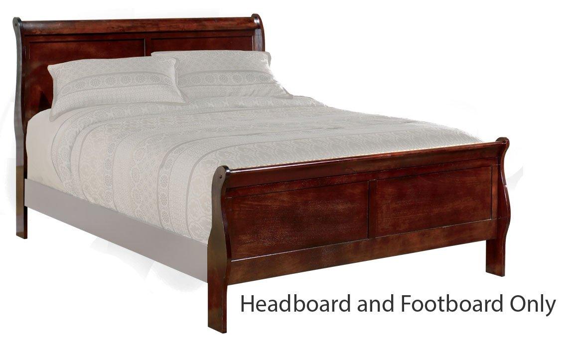 76b1b1abd76b Amazon.com - Ashley Furniture Signature Design - Alisdair Queen Sleigh  Headboard Footboard - Component Piece - Dark Brown -