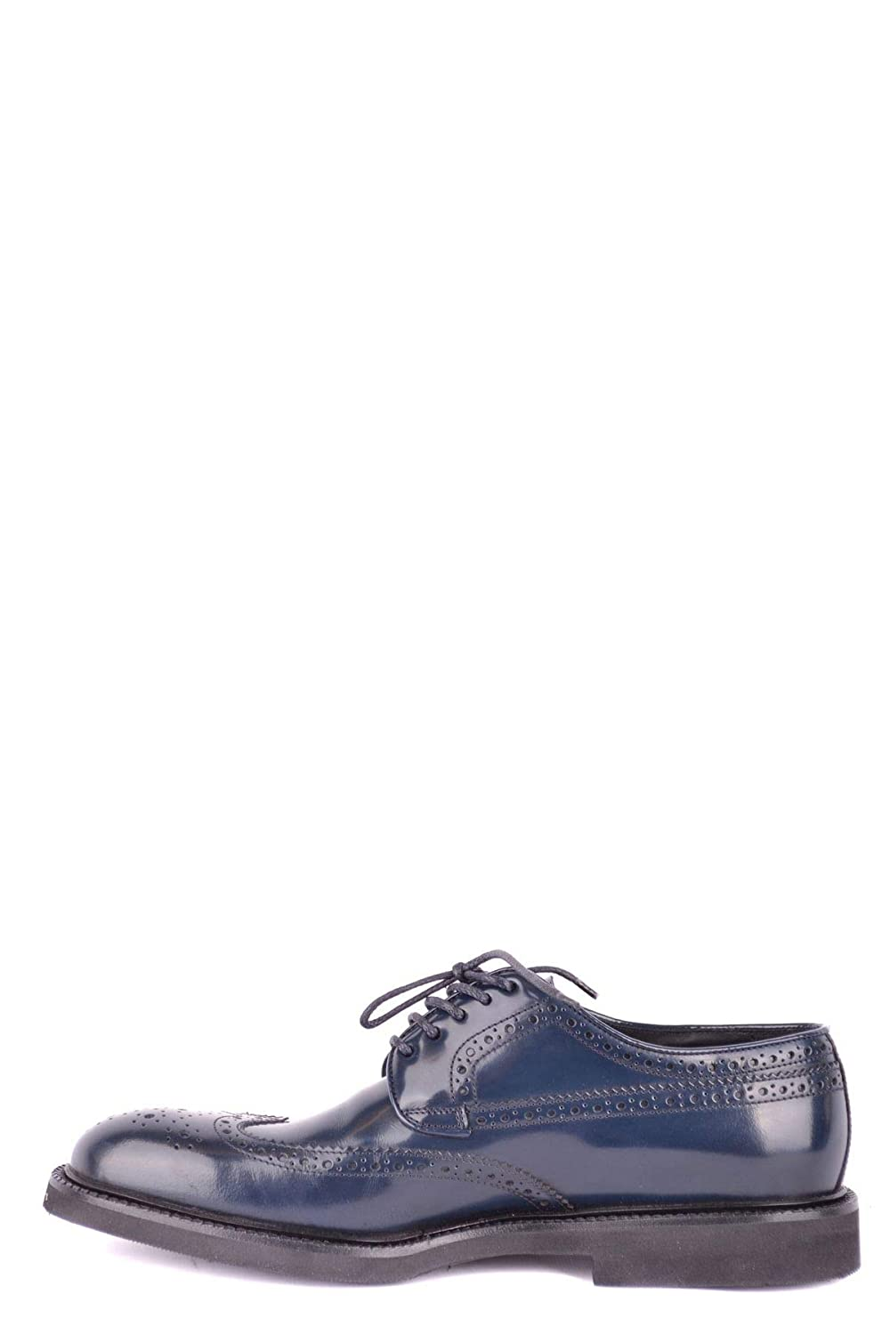 HOLBENS Luxury Fashion Mens LACE-UP Shoes Spring Blue J