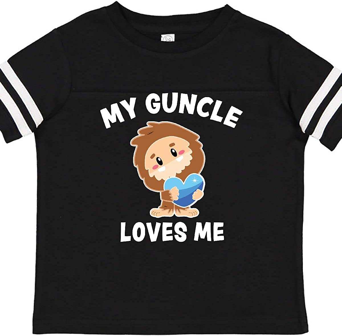 inktastic My Guncle Loves Me with Bigfoot Toddler Long Sleeve T-Shirt