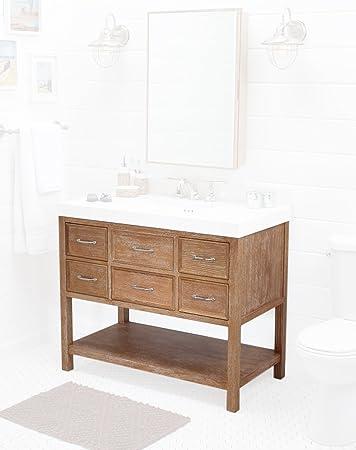 Amazoncom Ronbow R Newcastle Bathroom Vanity Cabinet Base - 42 bathroom vanity cabinets