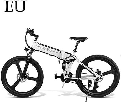 Adolenb E-Bike 26 pulgadas bicicleta eléctrica plegable bicicleta ...