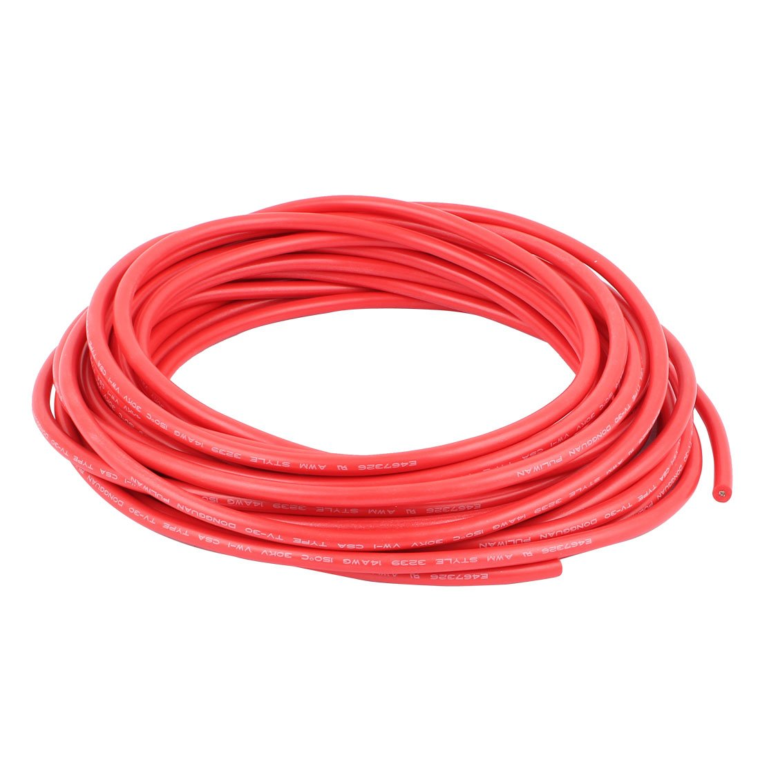 uxcell 10M 32.8Ft 14AWG 30KV Electric Copper Core Flexible ...